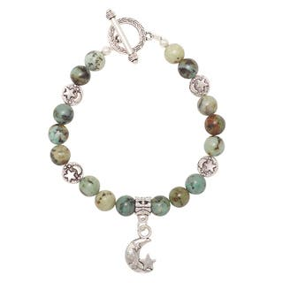 African Turquoise Celestial Bracelet|https://ak1.ostkcdn.com/images/products/14050632/P20665993.jpg?impolicy=medium