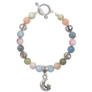 Healing Stones for You Beryl Celestial Bracelet|https://ak1.ostkcdn.com/images/products/14050640/P20665997.jpg?impolicy=medium