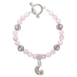 Healing Stones for You Kunzite Celestial Bracelet