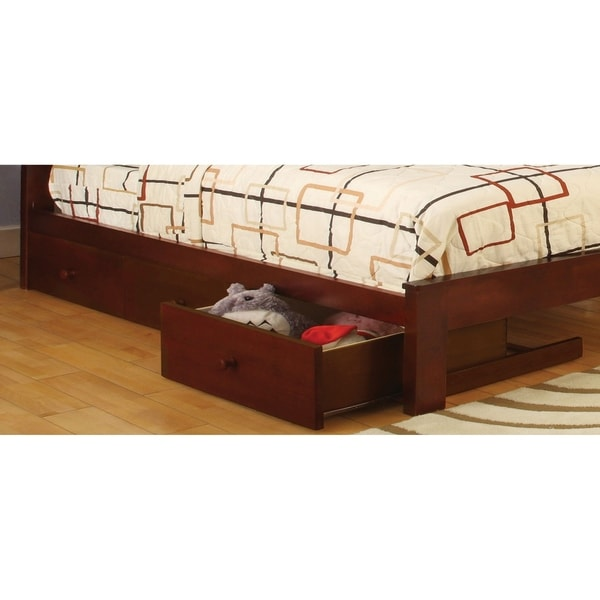 Furniture of America Ava Transitional Underbed Drawers Set of 3