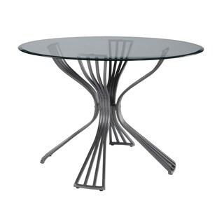 Delgado Dining Table - Silver