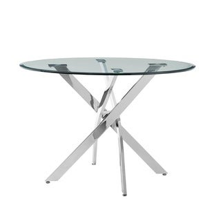 Putnam Dining Table   Silver