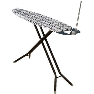 Deluxe 4-Leg Ironing Board w/ Iron Rest and Cord Minder