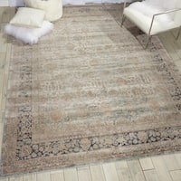 "kathy ireland Malta Cloud Area Rug by Nourison - 7'10"" x 10'10"""
