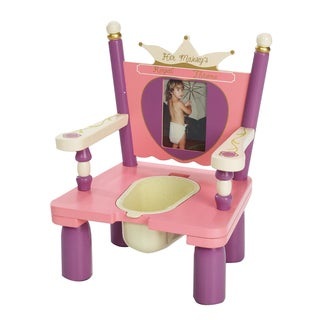 """Levels of Discovery Her Majesty's Throne """"Princess"""" Potty Chair"""