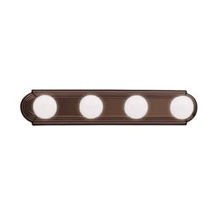 Kichler Lighting Transitional 4-light, 24-inch Tannery Bronze Linear Bath/Vanity Light