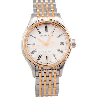 Hamilton Valiant 34mm Two-Tone Womens Watch - H39425114