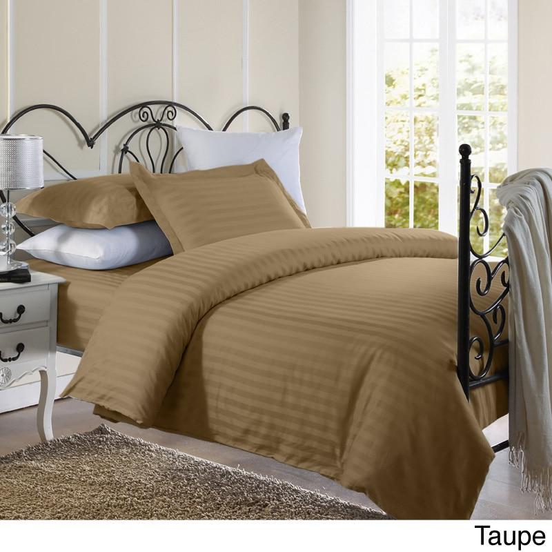 Ellington Home 1800 Series 3 Piece Damask Stripe Duvet Co...
