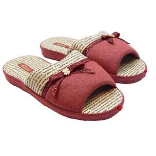 Vecceli Women's Opened-back Open-toe Slippers