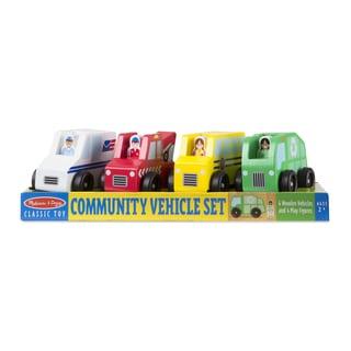 Melissa & Doug Community Vehicle Set