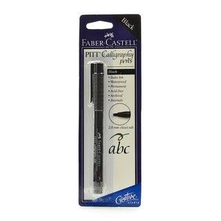 Pitt Chisel Black Nib Calligraphy Pens (Pack of 10)