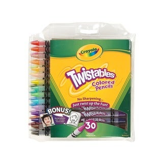 Twistables Colored Pencils (2 Packs of 30)