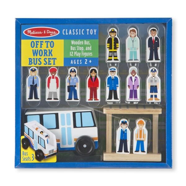 Melissa & Doug Off to Work Bus Set