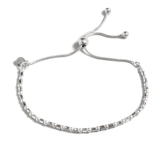 Pori Jewelers Sterling Silver Freshwater Pearl Adjustable Bracelet
