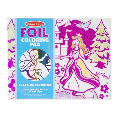 Melissa & Doug Foil Coloring Pad Playtime Favorites