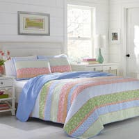 Poppy & Fritz Charlie Cotton 3-piece Quilt Set
