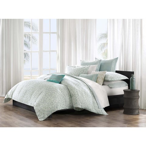 Echo Design Mykonos Multi Cotton Printed Duvet Cover 3-Piece Set