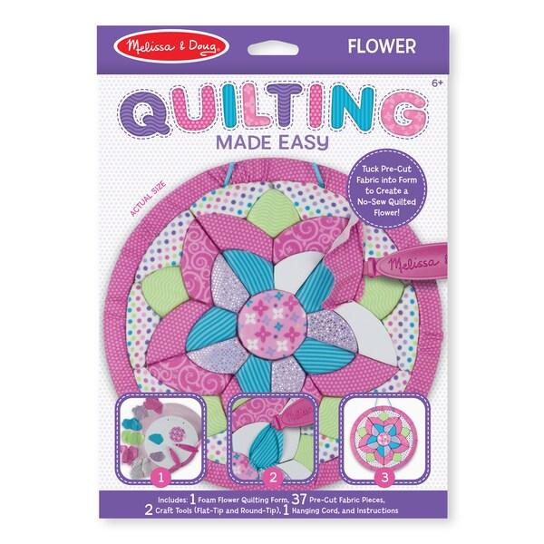 Melissa & Doug Quilting Made Easy Flower