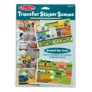 Melissa & Doug Transfer Sticker Set Around the Town