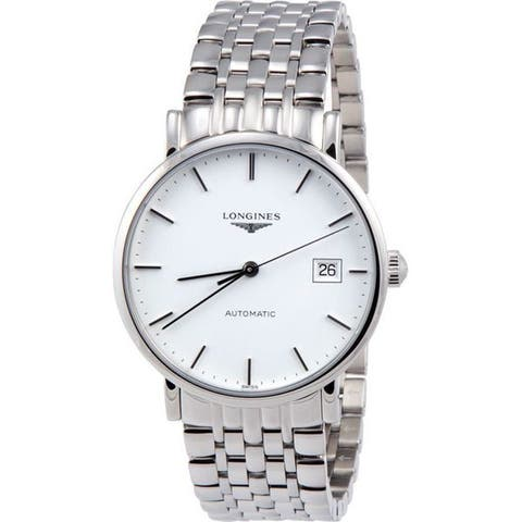 Longines Elegant Collection Automatic Stainless Steel Mens Watch
