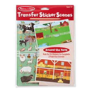 Melissa & Doug All Transfer Sticker Set Around the Farm