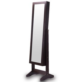 Ikee Design Jewelry and Accessory Wood Armoire with Mirror|https://ak1.ostkcdn.com/images/products/14052680/P20667774.jpg?_ostk_perf_=percv&impolicy=medium