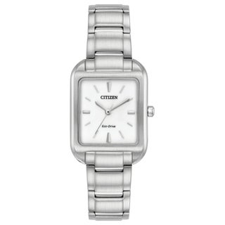 Citizen Women's EM0490-59A Eco-Drive Silver-Tone Stainless Steel Watch