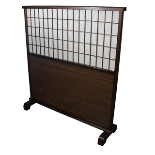 Traditional Mahogany Room Divider