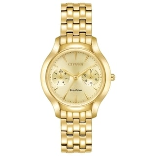 Citizens Women's Eco-Drive Gold-tone Stainless Steel Watch