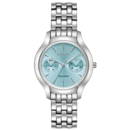 Citizen Women's Eco-Drive Blue Dial Watch