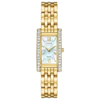 Citizen Women's EX1472-56D Eco-Drive Gold-Tone Stainless Steel Watch