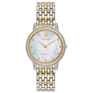 Women's Citizen Two-Tone Stainless Steel Eco-Drive Watch
