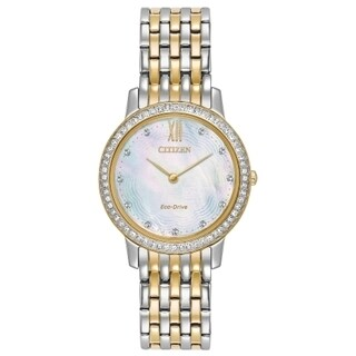 Citizen Women's EX1484-57D Eco-Drive Two-Tone Stainless Steel Watch