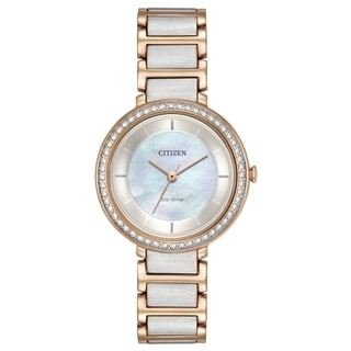 Citizen Eco-Drive Women's Mother of Pearl Watch
