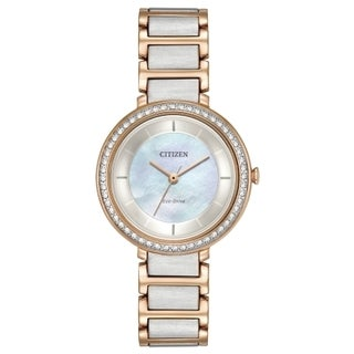 Citizen Women's Eco-Drive Mother of Pearl Watch