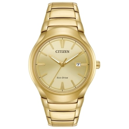 Citizen Men's AW1552-54P Eco-Drive Gold-Tone Stainless St...