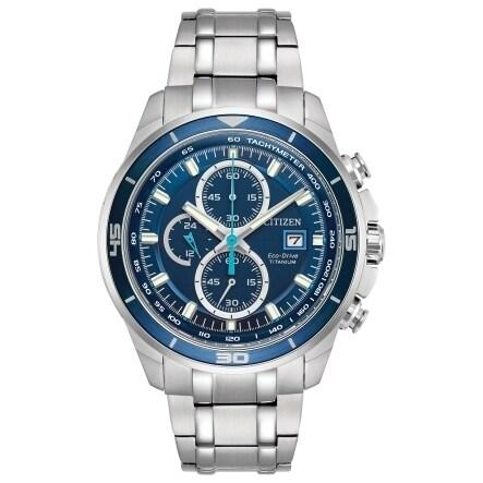Citizen Men's CA0349-51L Eco-Drive Titanium Watch (Citize...