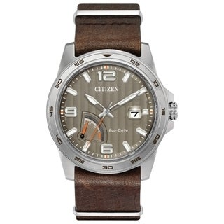 Citizen Men's AW7039-01H Eco-drive Stainless Steel Watch