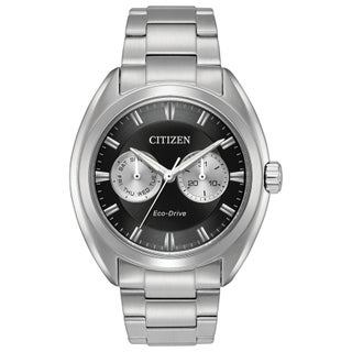 Citizen Men's BU4010-56E Eco-Drive Black Stainless Steel Watch