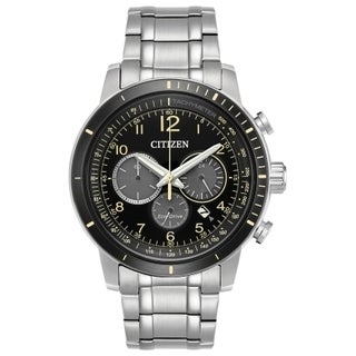 Citizen Stainless Steel Men's Eco-Drive Subdial