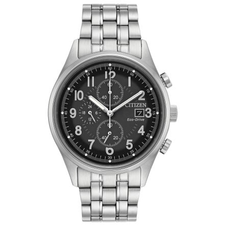 Citizen Men's CA0620-59H Eco-Drive Stainless Steel Chrono...