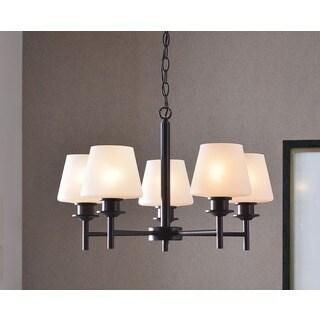 Design Craft Bronstone Bronze Heritage 5-light Chandelier