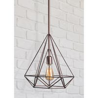 Palm Canyon Equinox Diamond 1-light Pendant