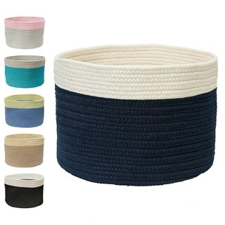 Mona-Mi Medium Color Dipped Storage Basket 12x12x12