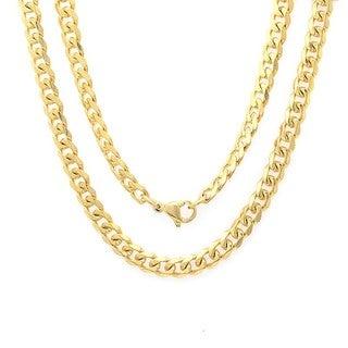 Piatella Ladies Gold Tone Curb Chain