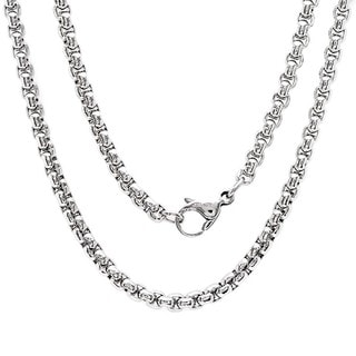 Stainless Steel Coreana Chain Necklace