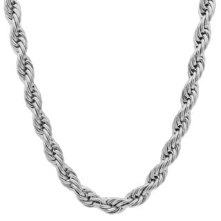 Stainless Steel Men's Double Rope Chain