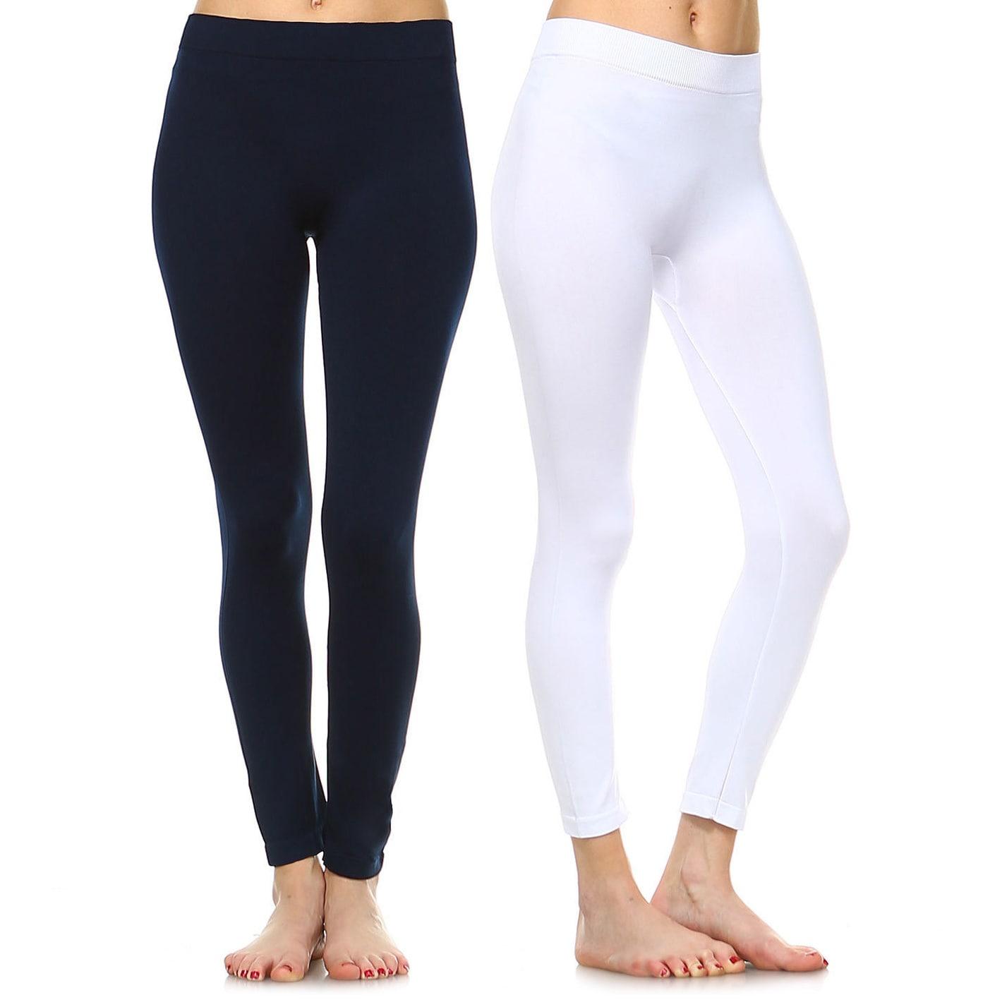 Sofra Ladies Long Leggings Yoga Fitness 2 Pack