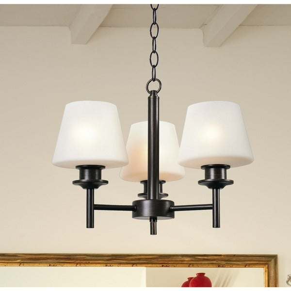 Bronstone 3 Light Chandelier