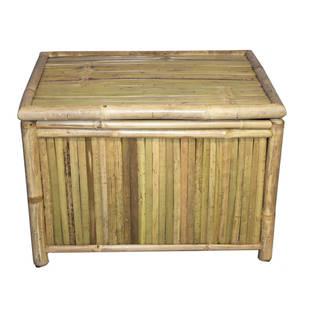 Handmade Large Rectangular Bamboo Box (Vietnam)